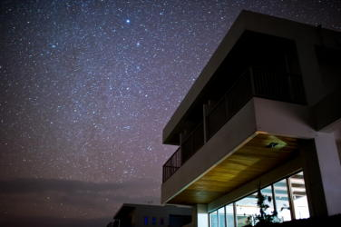 星空とペンション野空海