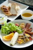 朝食(洋食の1例)